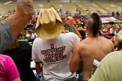 Pubblico di MCW Fotografie Stock Libere da Diritti