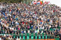Pubblico in Monte Carlo Rolex Masters 2016 Fotografie Stock Libere da Diritti