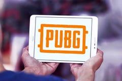 PUBG, поля боя PlayerUnknown, игра стоковое изображение