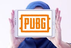 PUBG, поля боя PlayerUnknown, игра стоковые фото
