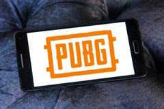 PUBG, поля боя PlayerUnknown, игра стоковые изображения