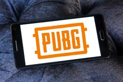 PUBG, i campi di battaglia di PlayerUnknown, gioco immagini stock