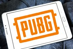 PUBG PlayerUnknowns slagfält, lek royaltyfria bilder