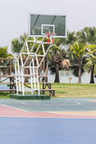 Pubic basketball court Stock Image
