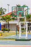 Pubic basketball court Royalty Free Stock Photography