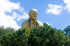 Pubic The large Statue of kruba Siwichai. In Doi ti temple Lamphun Thailand royalty free stock image