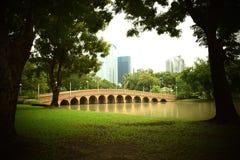 Pubic park. Relate veadant def garden green stock image