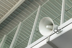 Public address announcement system Stock Photography