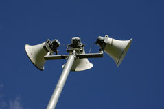 Public Address System Royalty Free Stock Photography