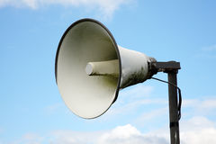 Public address system Stock Image