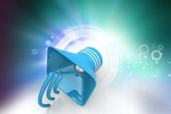 Public announcement loudspeakers Stock Photos