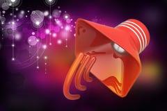 Public announcement loudspeakers Stock Image
