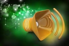 Public announcement loudspeakers Stock Photography