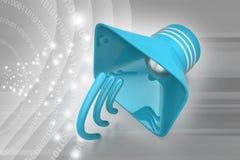 Public announcement loudspeakers Royalty Free Stock Photos