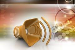 Public announcement loudspeakers Royalty Free Stock Image