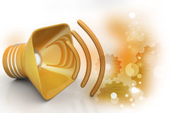 Public announcement loudspeakers Royalty Free Stock Photography