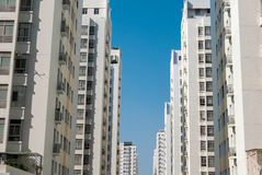 Public apartment buildings in Ho Chi Minh City, Vietnam Stock Photo