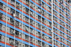 Public apartment in Hong Kong Royalty Free Stock Images