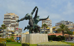 Public art and architecture of Torremolinos Andalucia  Spain. Stock Photography