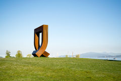 Public Art in Kits Point Royalty Free Stock Image