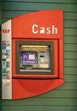 Public ATM machine in Arrowtown, New Zealand. Stock Photography