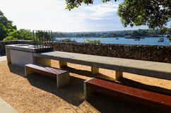 Public Barbeque at Ballast Point Park Birchgrove Sydney Royalty Free Stock Images
