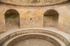Public Bath in Ancient Pompeii Stock Images