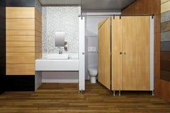 Public bathroom Stock Images