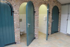 Public bathroom Royalty Free Stock Photo