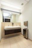 Public bathroom interior Stock Image