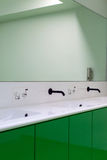 Public bathroom. Stock Photo