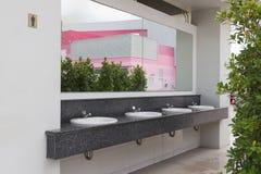 Public bathroom Stock Image