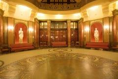 Public Baths, Interior Stock Image