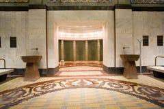 Public baths interior Stock Images