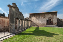 Public Baths Pompeii Italy Stock Photo