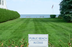 Public Beach Access Stock Photos