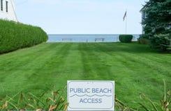 Public Beach Access Stock Photos