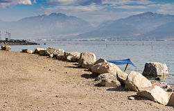 Public beach in Eilat, Israel Stock Images