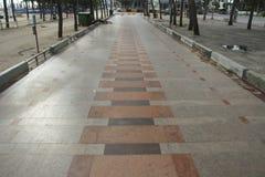 Public beach walkway. Footpath Near the beachn Royalty Free Stock Photo