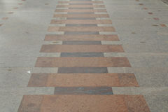 Public beach walkway. Near the beach Stock Photo
