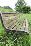 Abandoned bench royalty free stock image