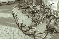 Public bicycles. Stock Photography