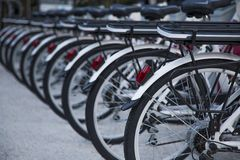 Public bicycles Royalty Free Stock Images