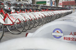 PUBLIC BICYCLES Stock Photos