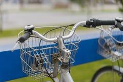 Public bicycles. Royalty Free Stock Photos