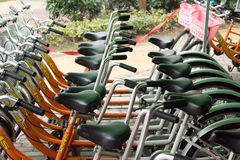 Public bike in China Stock Photography