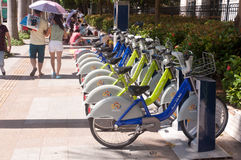 Public bike in China Stock Photo