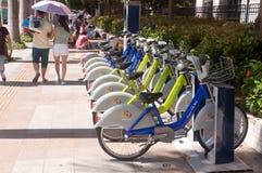 Public bike in China Stock Photo