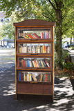Public bookcase in Germany Stock Photos