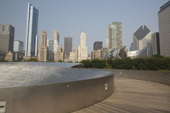 Public BP walkway in Millenium park, Chicago, Il, USA Stock Photography